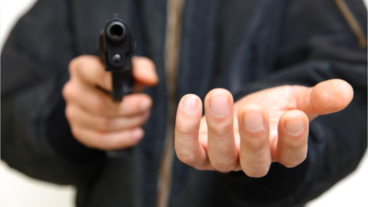 нападение вооруженного преступника
